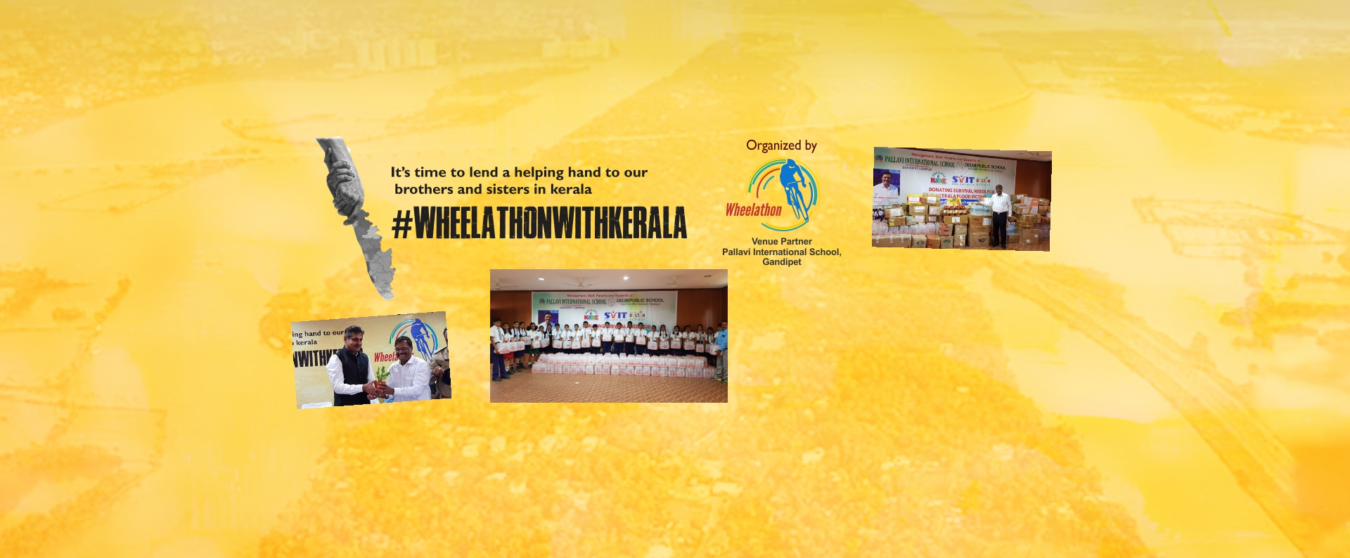 Wheelathon Supports Kerala